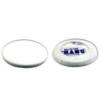 Tampon pour clarinette cuir blanc de 7 à 16.5 mm