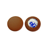 Tampon pour saxophone peau brune, plein, de 7 à 23.5 mm