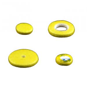 Tampon pour flûte, feutre tissé, plein de 7 à 21 mm